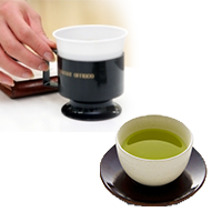 コーヒー・抹茶サービス
