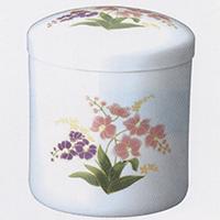 花柄入り骨壷