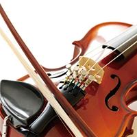 献奏ヴァイオリン
