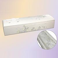 布張刺繍棺