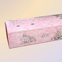 布張刺繍棺ドーム型