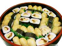 助六寿司盛り合わせ