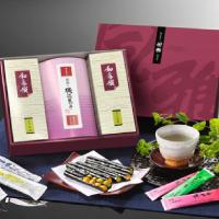 風雅 海苔菓子・お茶2種類詰合せ