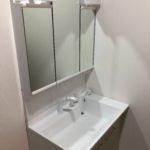 アクロスウィル武雄斎場内の洗面浴室を改修いたしました
